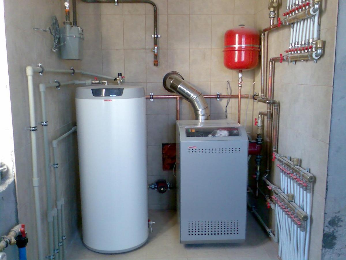 Котел для воды отопления дома
