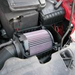 По какому принципу работает воздушный фильтр в машине