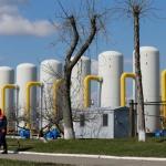 Запасы газа Украины упали ниже 16 млрд кубометров
