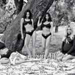 В полном составе: сестры Кардашьян снялись в новой рекламной кампании Calvin Klein