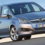 Обзор автомобиля Opel Zafira В