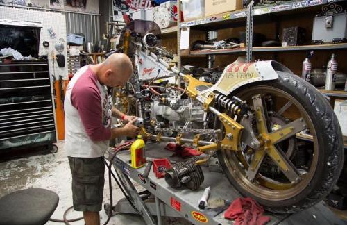 Ремонт мототехники в мастерской Quad Master