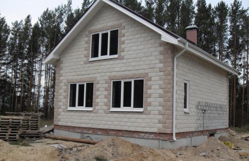 Преимущества домов из шлакоблока