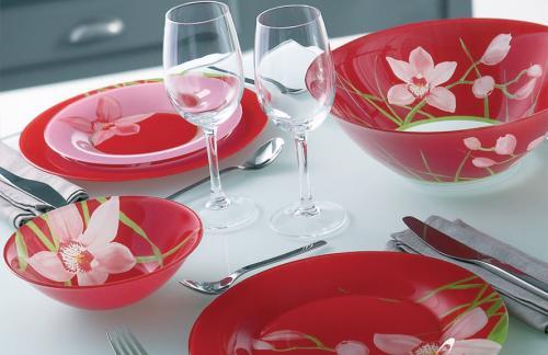 Выбрать набор тарелок