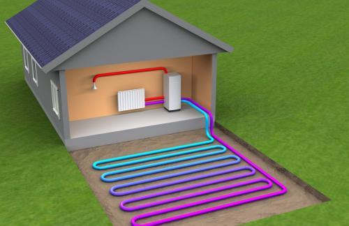 Тепловой насос для альтернативного отопления