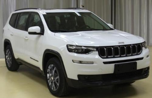 Вот так будет выглядеть пятиметровый семиместный Jeep