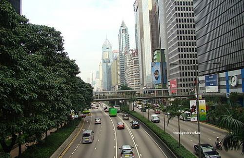 Гонконг со своим настроением.
