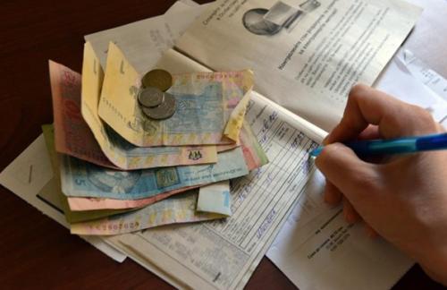 Украинцы накапливают долги за коммуналку