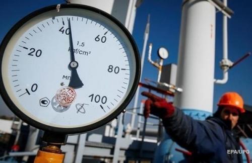 Украина увеличила объемы газа в хранилищах