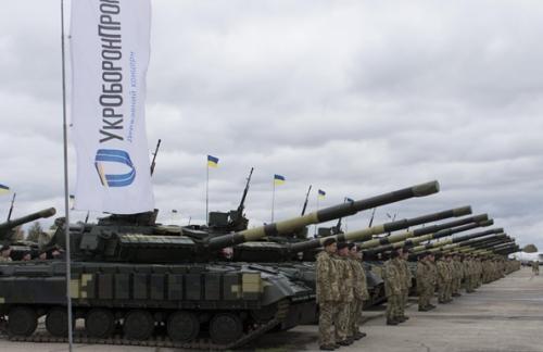 Украина опустилась на 12 место по торговле оружием