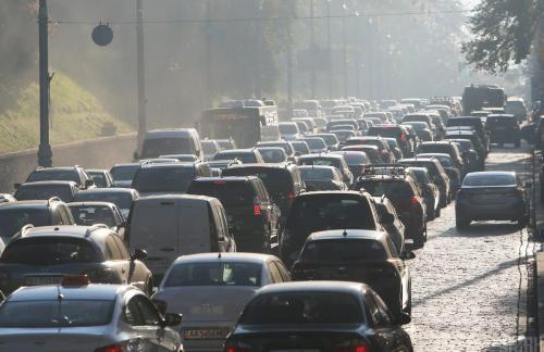 Затори у Києві: ситуація на дорогах та мостах столиці у вівторок зранку (карта)
