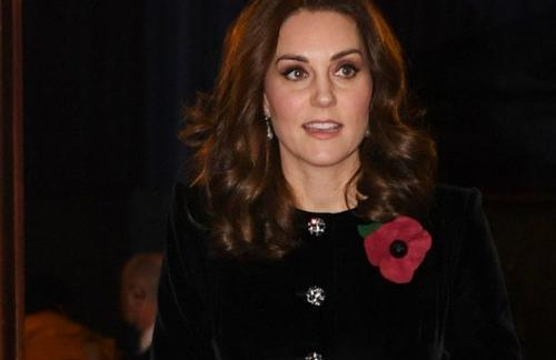 Кейт Миддлтон надела драгоценное ожерелье, которое принадлежало принцессе Диане