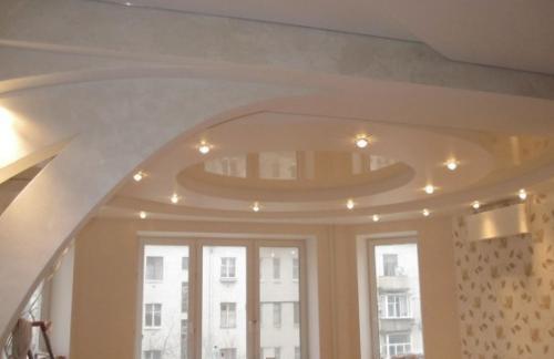 Выбираем материал для двухуровневого потолка