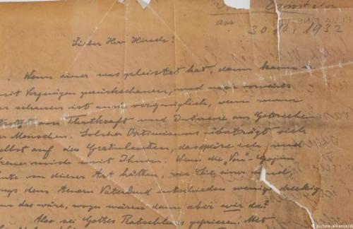 В Мюнхене найдено копию письма Эйнштейна