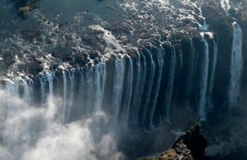 Возникновение водопада Виктория