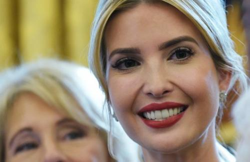 Иванка Трамп вышла в свет в костюме за 220 долларов