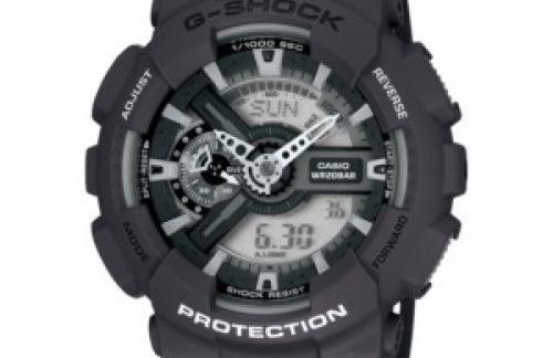 Наручные часы G-Shock GA-100-1A2ER - стиль и надежность.