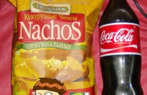 Вред от чипсов и колы