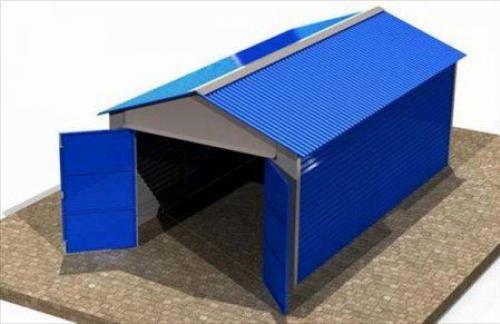 Металлический гараж, лучшее решение для автовладельца