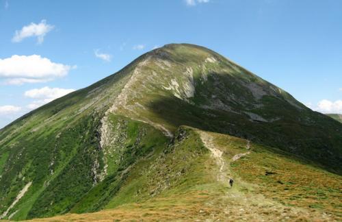 Говерла - высочайшая вершина Украины