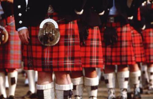 Клетчатая юбка шотландца. Что символизирует юбка шотландца?