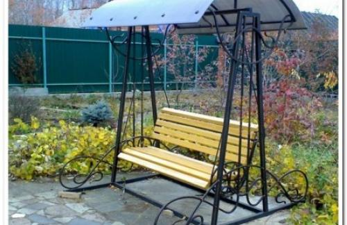 Кованая мебель для сада - лучшие идеи его оформления!