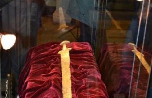 Найден меч князя Святослава