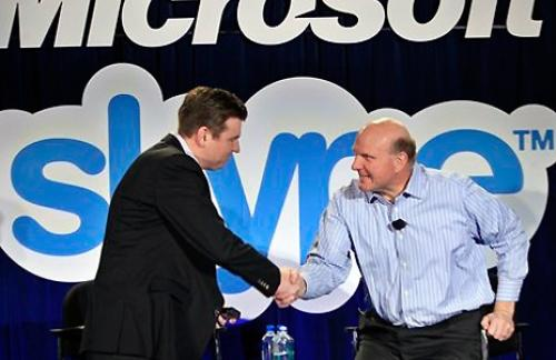 За 8,5 млрд. долл. Microsoft покупает Skype