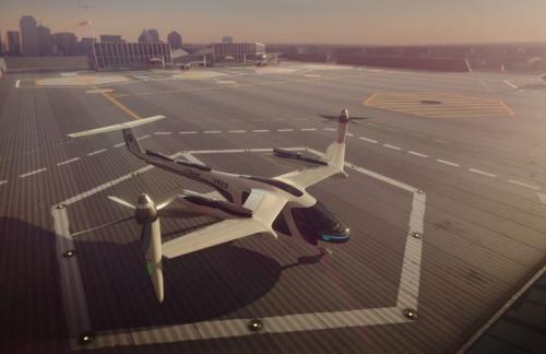 Uber строит центр разработки летающих такси во Франции