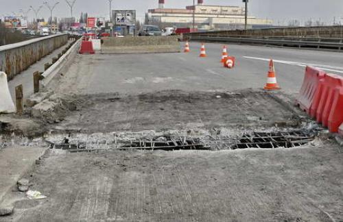 Кличко об «обрушении» моста на Выдубичах: проводится плановый ремонт деформационных швов