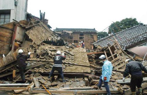 Землетрясение - ужас в Японии