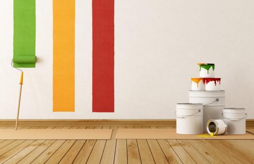 Как быстро высушить стены?
