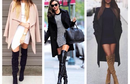 Подбираем ботфорты под стиль одежды