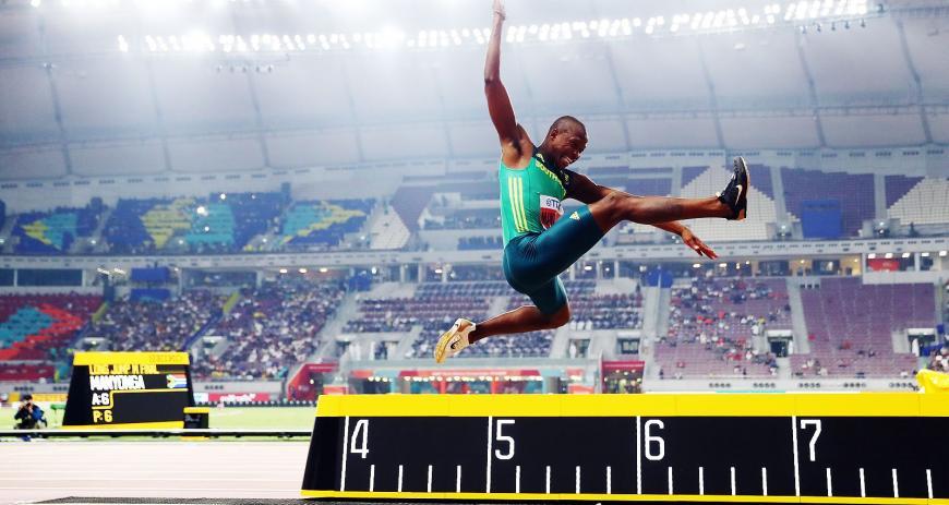 Чемпион по прыжкам в длину нарушил правила антидопинга