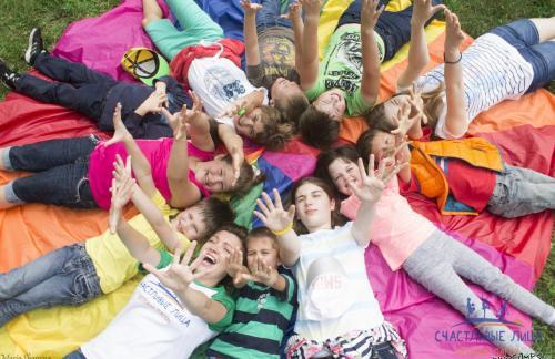 Лагерь для почти взрослых детей