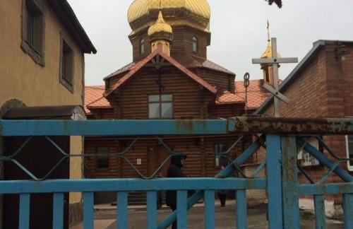 В полиции Запорожья опровергли информацию об избиении участников акции у храма УПЦ МП