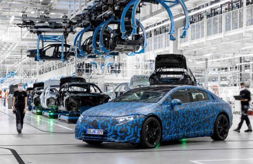 До конца 2022 года Mercedes-Benz запустит в производство сразу шесть электромобилей семейства EQ