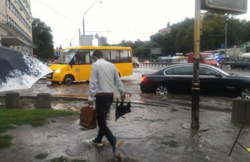 В Киеве 28 июля ожидаются грозы, возможны подтопления