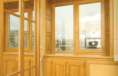 Как создают деревянные окна
