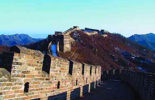 Пекин Великая Китайская стена - возведение