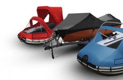 Тенты на ПВХ и алюминиевые лодки