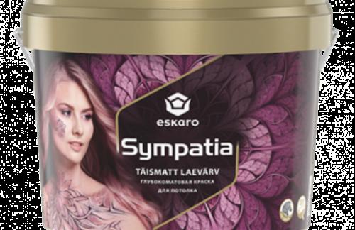 Глубокоматовая краска для интерьера Eskaro Sympatia